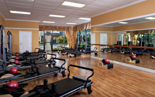 Interior Laura's Ultimate Pilates studio in Parkland FL